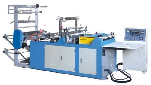 Side Sealing and Cutting Bag Making Machine