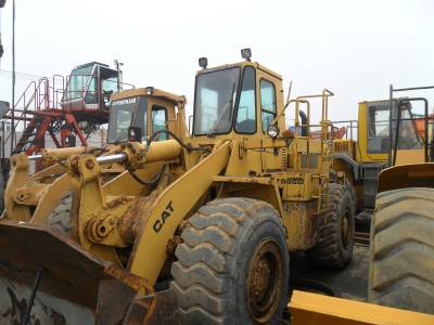 used caterpillar wheel loader 966D