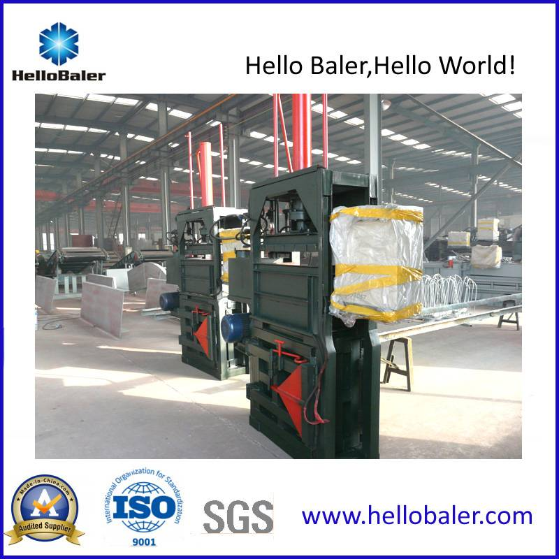HelloBaler Vertical Waste Plastic Baler with CE Certificate (VM-1)
