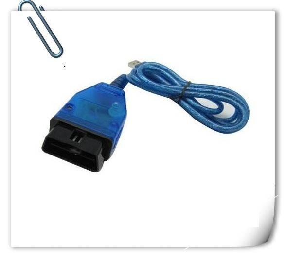 USB OBD-II KKL OBD2 VAG409.1 VAG-COM Diagnostic Scanner Cable For VW/Audi/Seat Free shipping