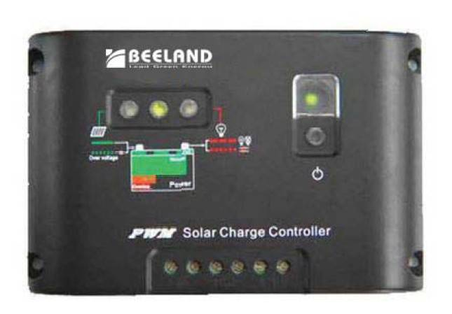 Solar Charge Controller 12/24V auto work, ideal for small solar home system or rural electrification