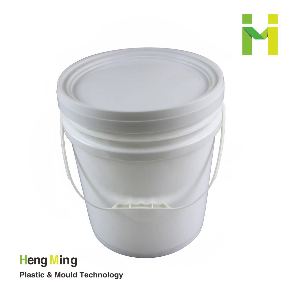 18liter plastic water bucket