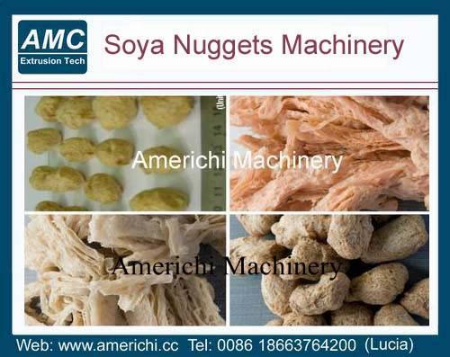 Textured soya protein food machine