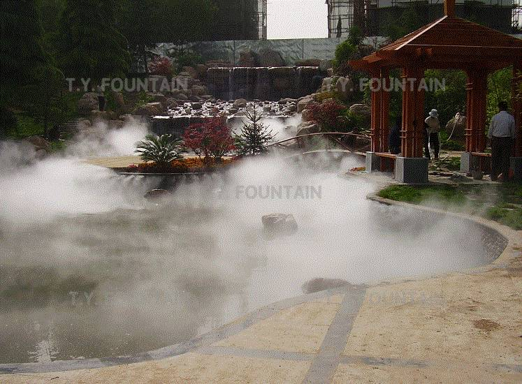 Garden Fountain for landscope ( MIst Cool Fog)
