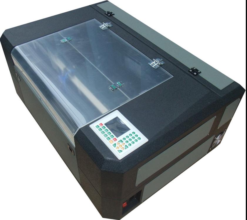 350 co2 50W laser cutting machine/laser cutter
