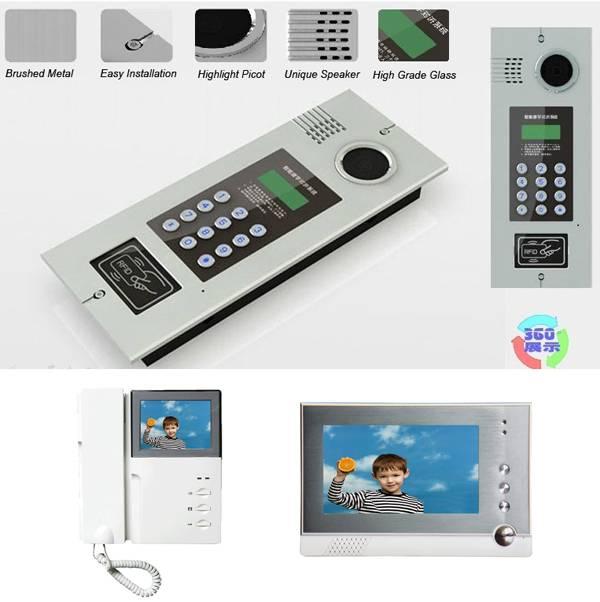 Digital Apartment / Building Video Intercom
