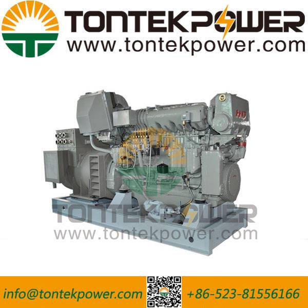 1200kW Big Power Marine Diesel Generator with Rechargeable Battery