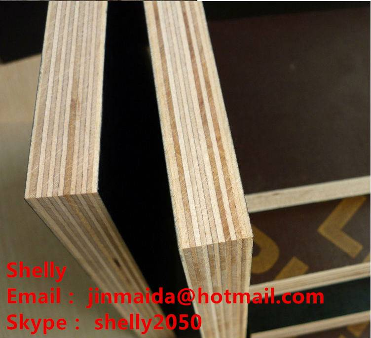 15mm black film faced plywood for construction