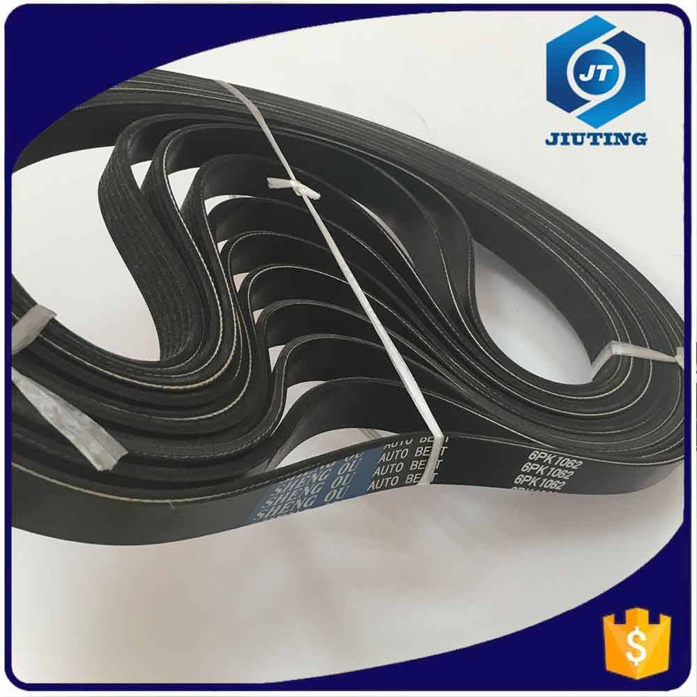 OEM supplier EPDM automotive poly ribbed v belt PK belt