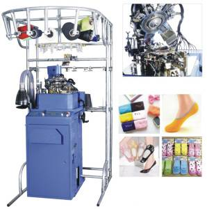 Single-Cylinder 2-Feed Hosiery Sock Knitting Machine (HY-6F-4002)