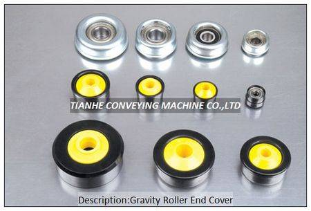 gravity roller end cap bearing housing, gravity roller end cover