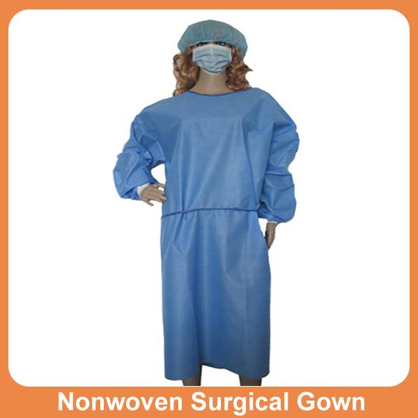 Disposable hospital SMS surgical gowns