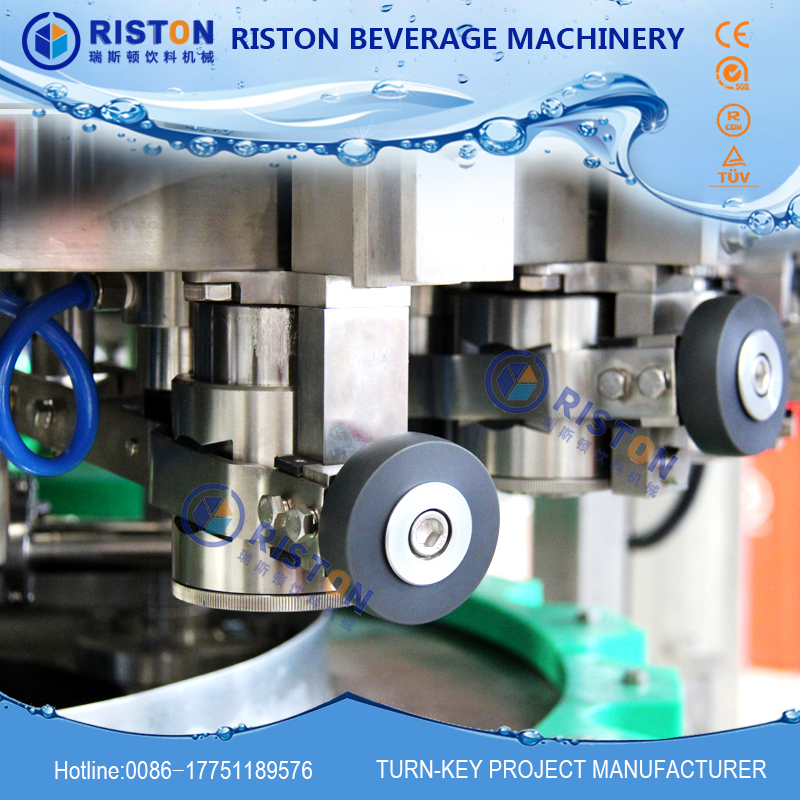 Automatic Automatic Grade and Cans,Case Packaging Type carbonated water can filling machine