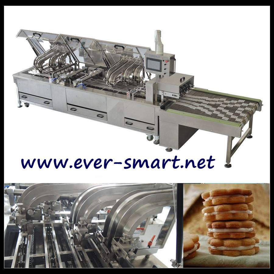 High Speed 4-lane Sandwiching Machine
