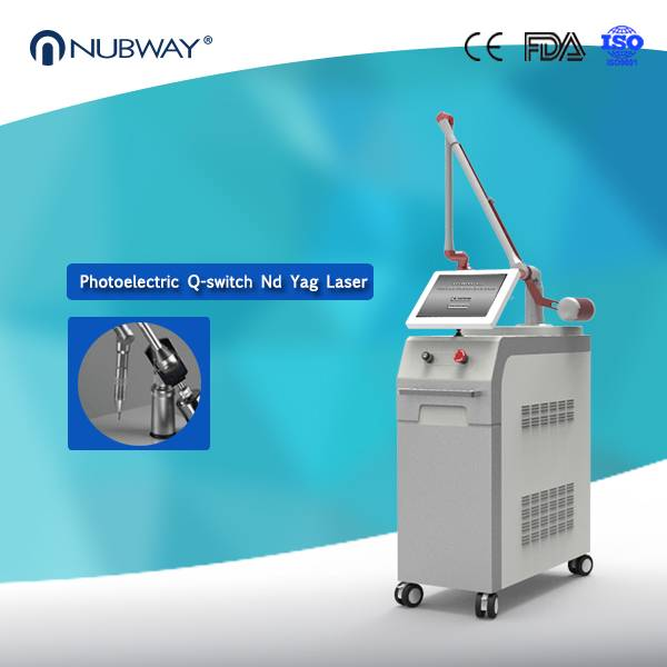 New Professional Medical Use Q Switch Nd Yag Laser Tattoo Removal Machine