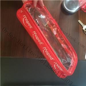 transparent pvc stationery bags ,pvc pen cases