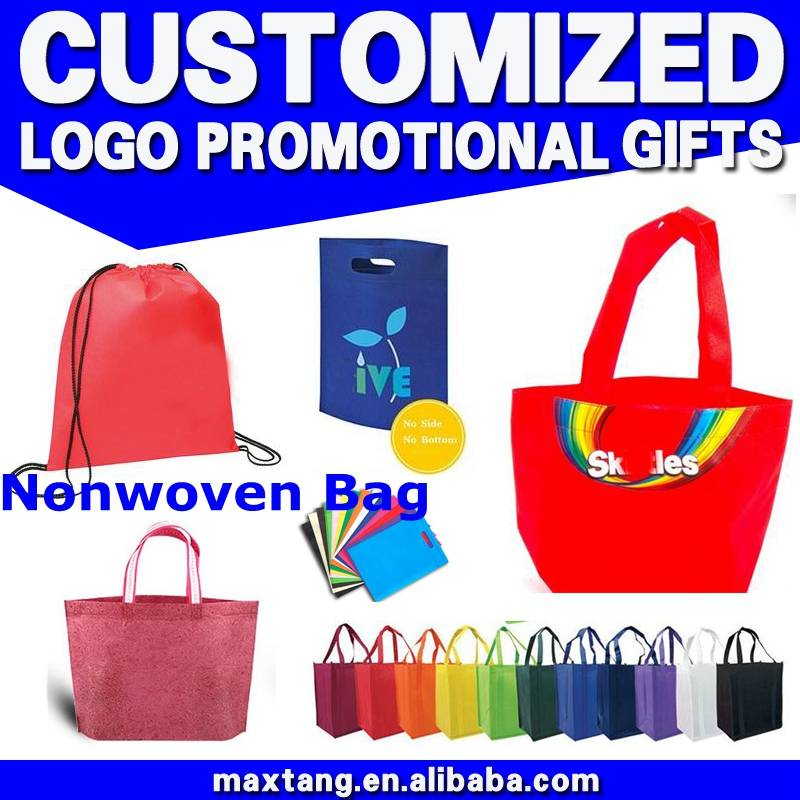 China Guangzhou Wholesale Market Nonwoven Drawstring Bag Non woven Bag Making Machine Reusable Shopp