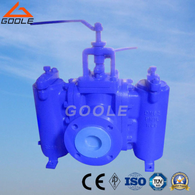 Flanged End Duplex Strainer (GASVS20)