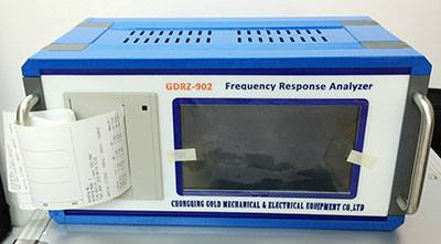 Automatic  Sweep Transformer Frequency Response Analyzer SFRA Tester