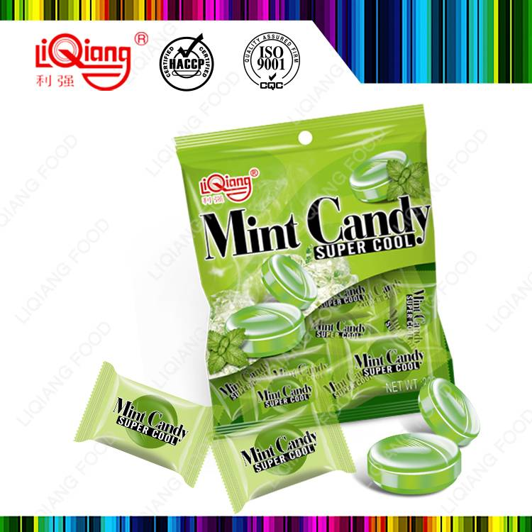 Mint flavor hard candy