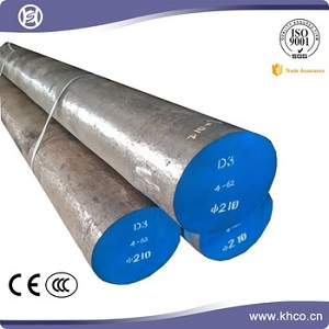 Alloy cold working special steel material round bar AISI D3