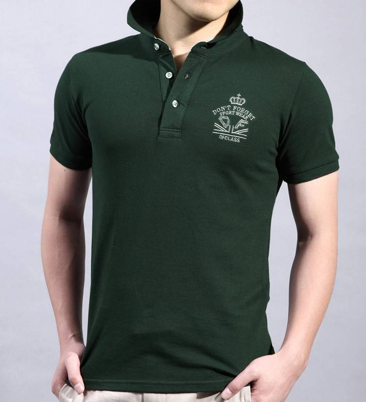 Wholesale Manufacturers in China Custom Overseas polo  T Shirt