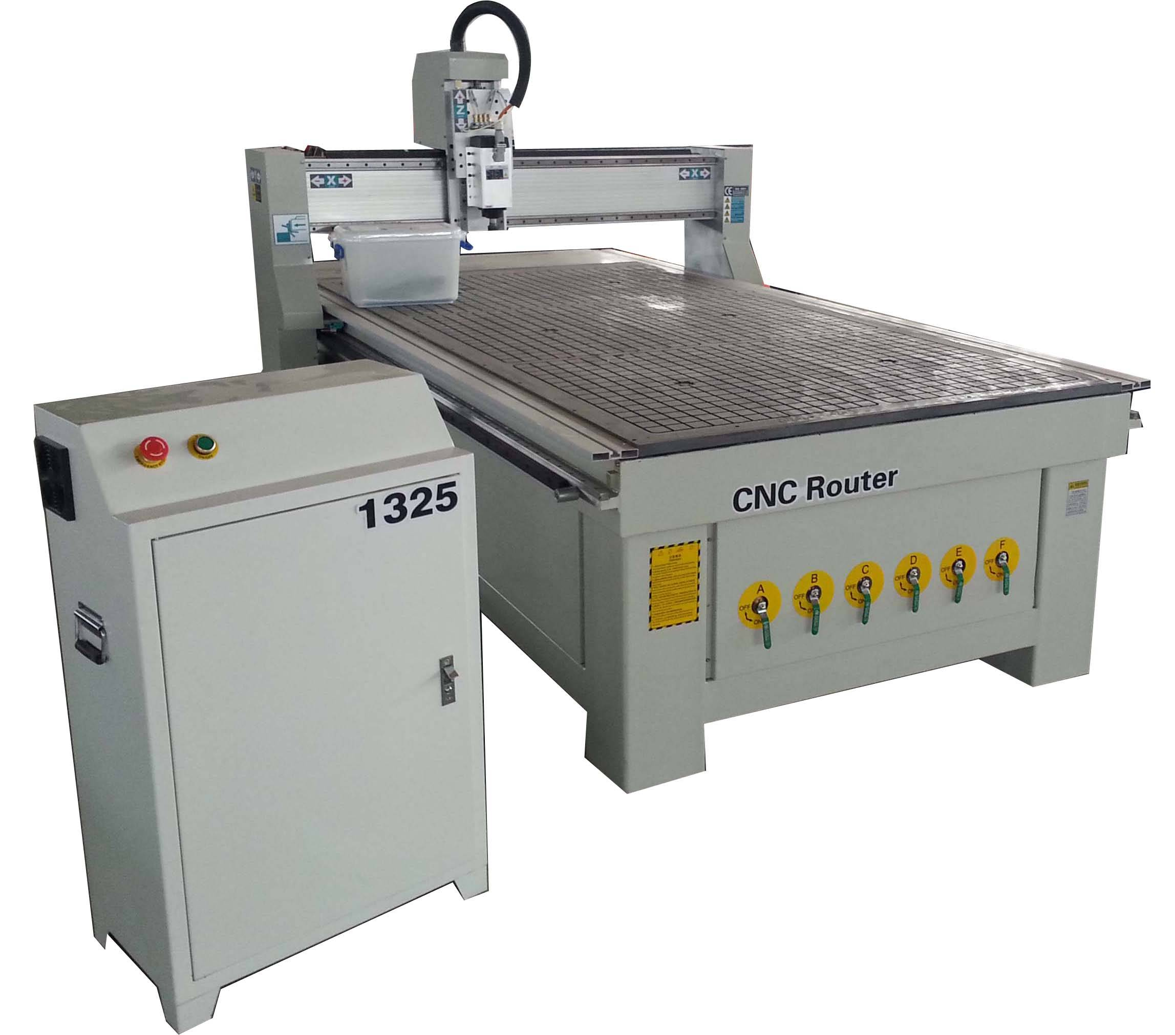 China factory CNC router DKR-1325 5.5kw constant power spindle with vacuum table and dust collector