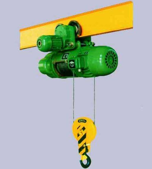 Electric cable hoists and electric wire rope hoists