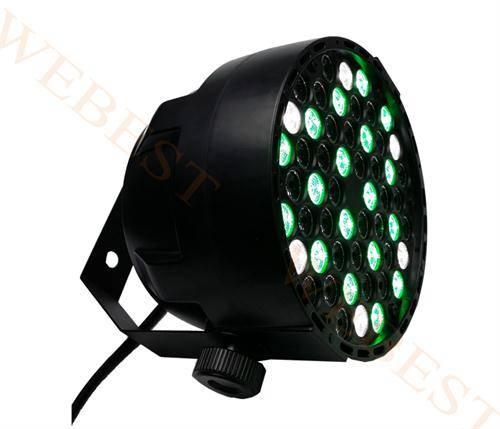 Plastic LED Par 54*1W RGBW Light