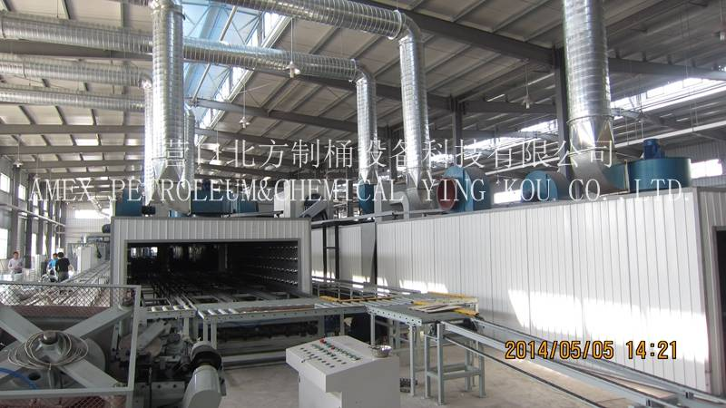 Steel drum manufacturing machine 55 gallon or steel barrel production line 210L