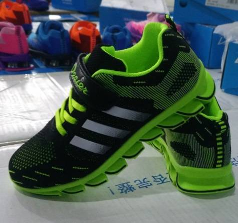 2016 newest JinJiang shoe upper flyknit vamp for sport shoes