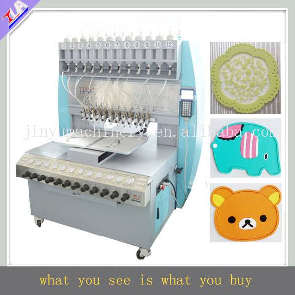 good quality and high speed pvc cup coaster making machine