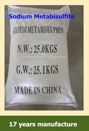 Factory Sale Sodium Metabisulfite