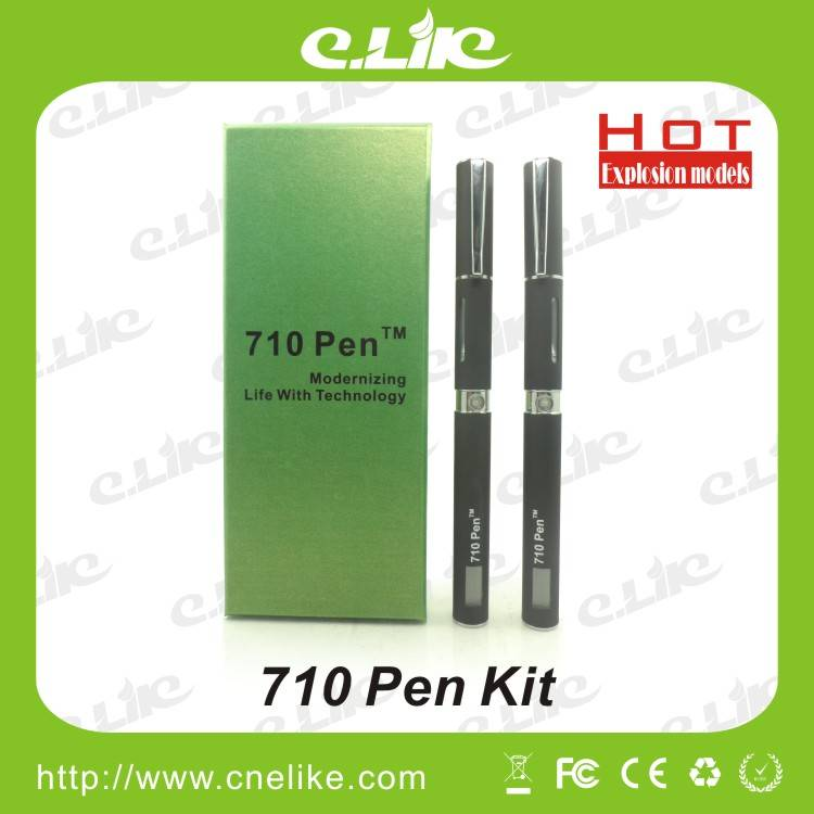 2013 Newest Electronic Cigarette 710 Pen  Dry Herbal / Wax / Oil