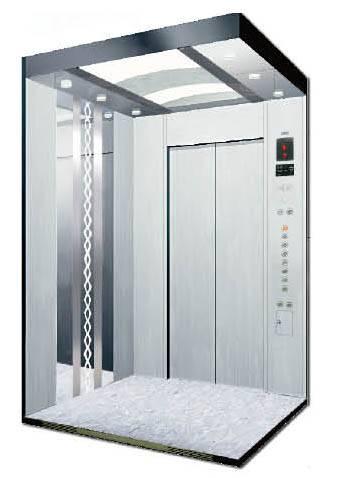 Fashion Design Hairline Stainless Cabin Passenger Elevator
