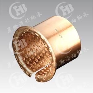 CHB-FB090 Monometallic Self-Lubricating Bimetal Bronze Bearing