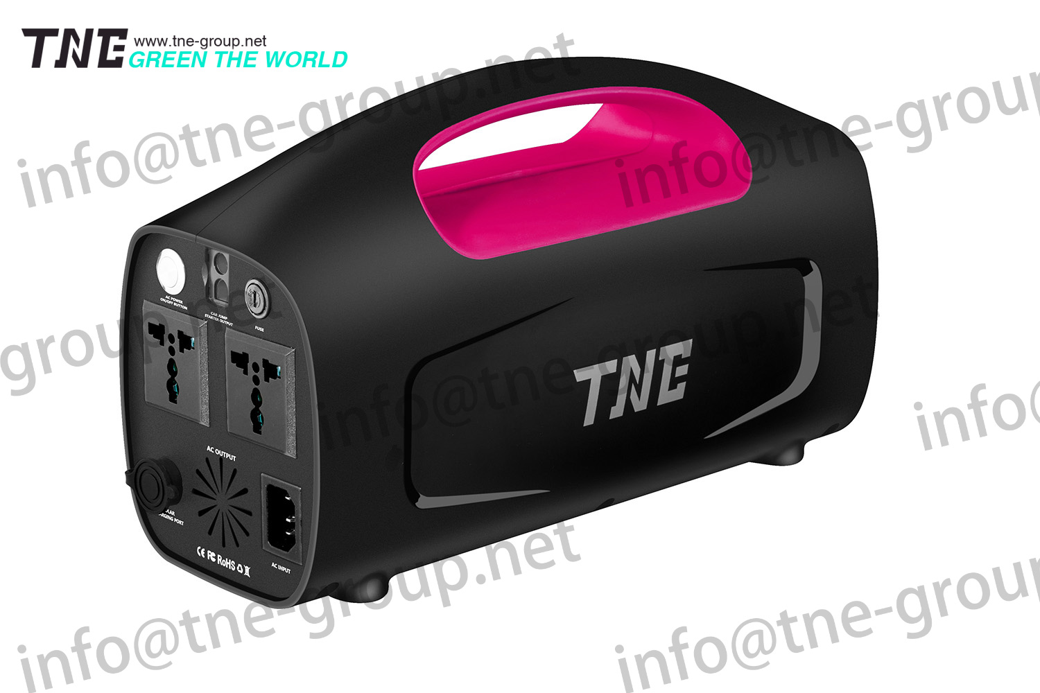TNE rechargeable li-ion Storage Battery UPS With ISO/CE Certificates In China rechargeable UPS li-io