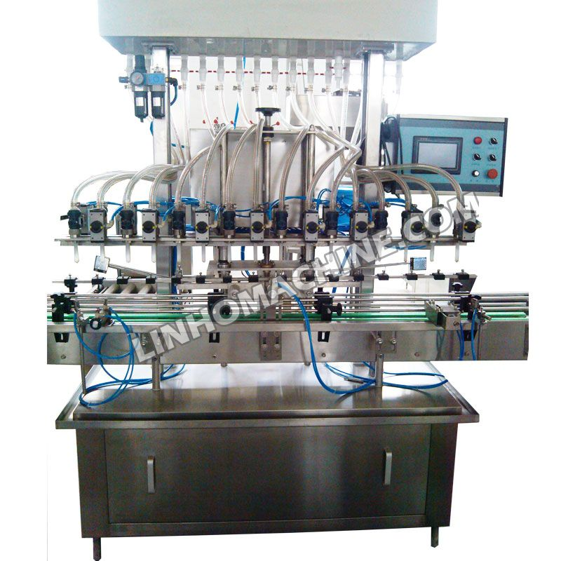 Automatic Linear Type Oil Filling Bottling Packing Machine Plant Equipment