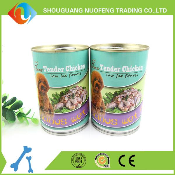 Wholesale Premium Canned Tender Chicken for dog food