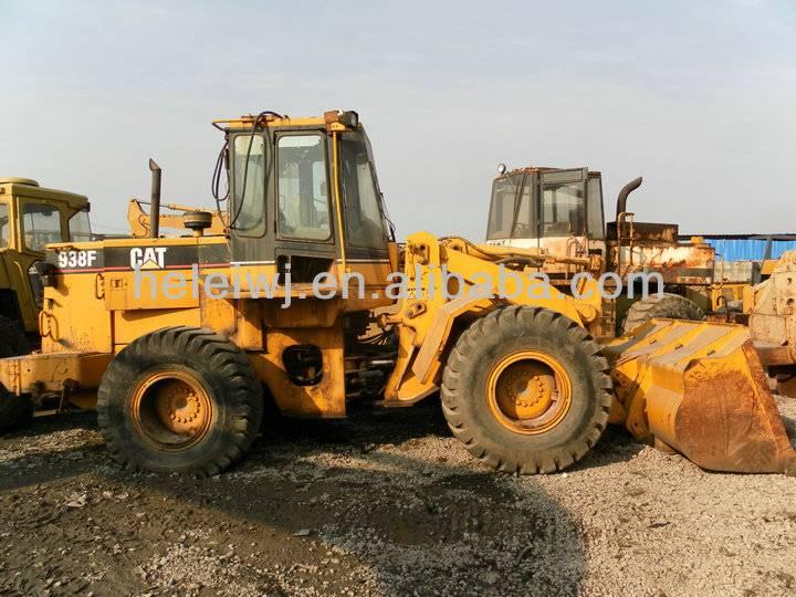 USED CAT 938F WHEEL LOADER