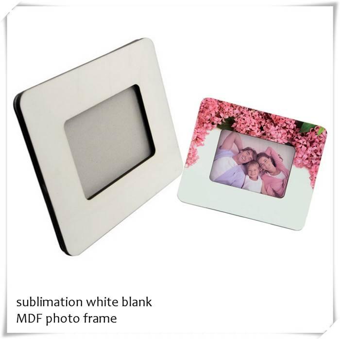 """DYE sublimation hardboard photo frame 6X8"""""""