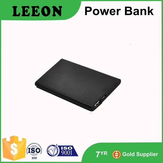 Ultra slim mobile polymer power bank 5000mah