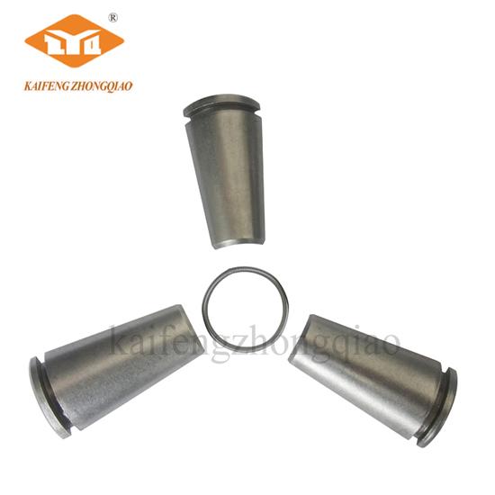 2 pcs wedges for precast concrete anchor post tension accessories