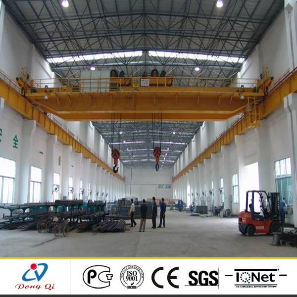 high quality double girder hoist EOT crane 10t price