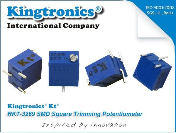 Kt Kingtronics RKT-3269 SMD Square Trimming Potentiometer