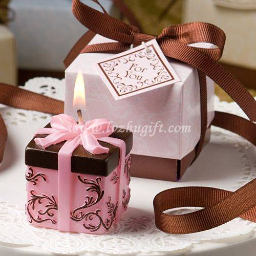 Gift Box candle favors gift