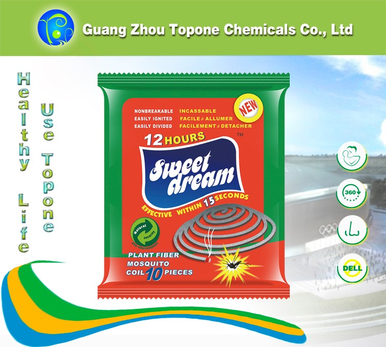 TOPONE Hot sale factory price paper mosquito coil , mosquito killer coil , mosquito repellent coil