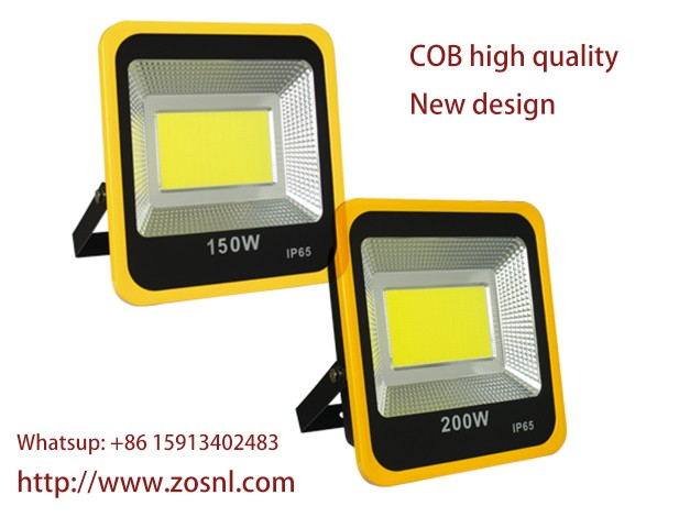 150w and 200W COB yellow flood light