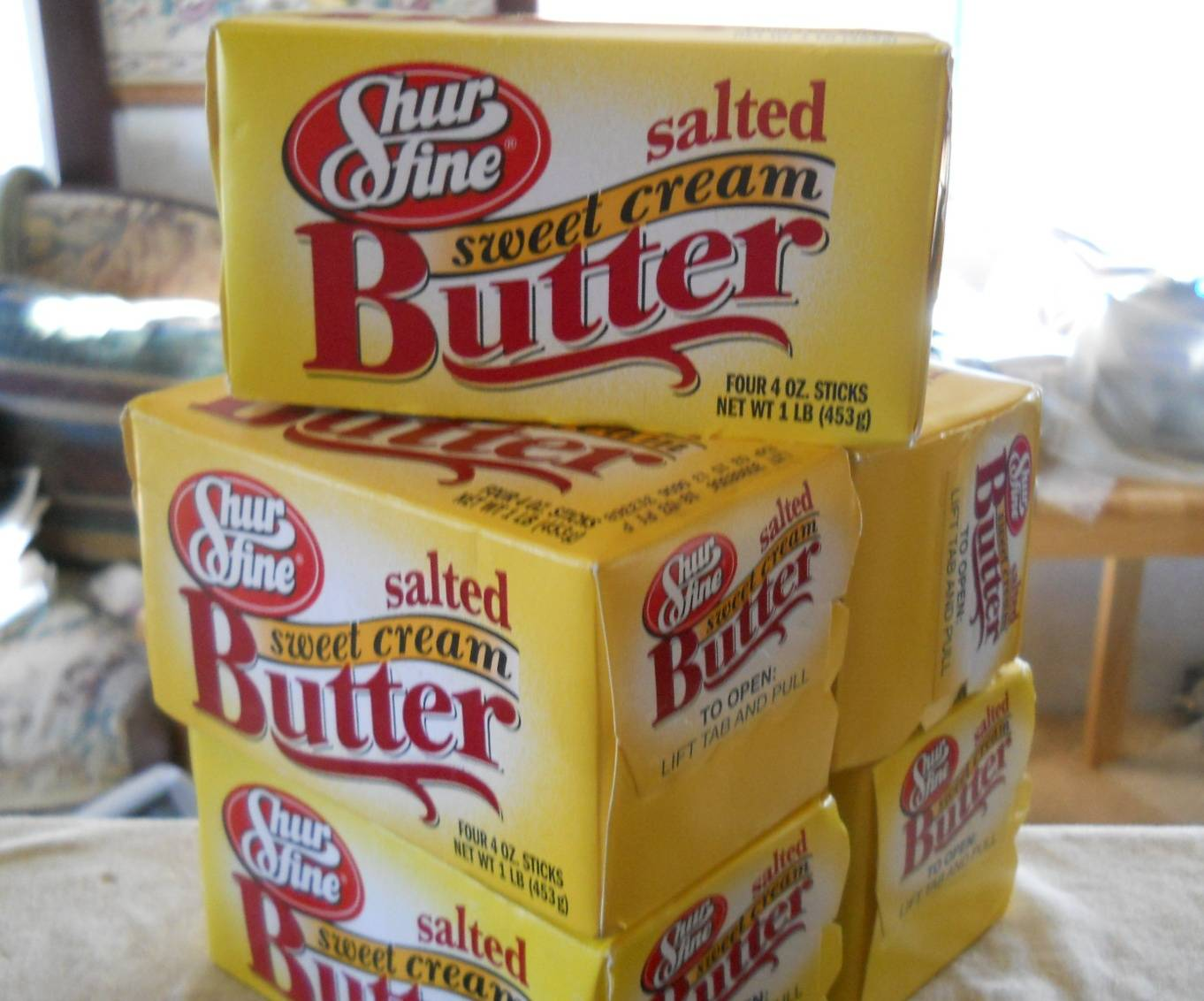 Pure unsalted cow milk butter for sell in bulk