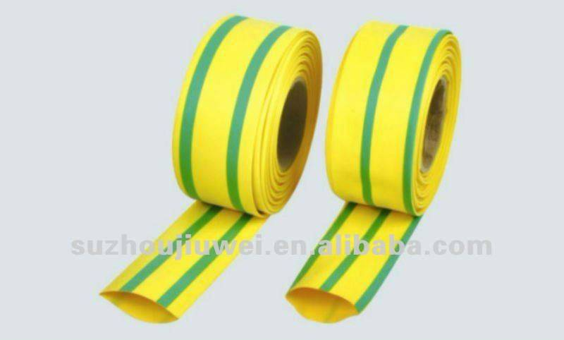Cable accessories/heat shrink sleeve/Yellow-green heat shrinkable sleeves